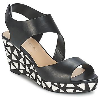 Topánky Ženy Sandále Moony Mood EPALINE čierna