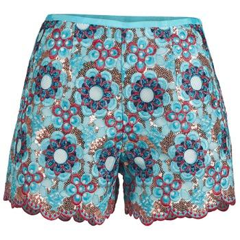 Oblečenie Ženy Šortky a bermudy Manoush FRESQUE Modrá