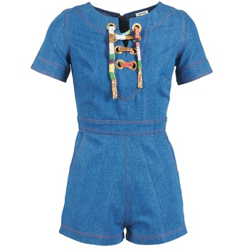 Oblečenie Ženy Módne overaly Manoush LACET Modrá / Jean