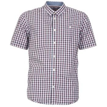 Oblečenie Muži Košele s krátkym rukávom Tom Tailor CATHARINI Biela / Červená / Čierna