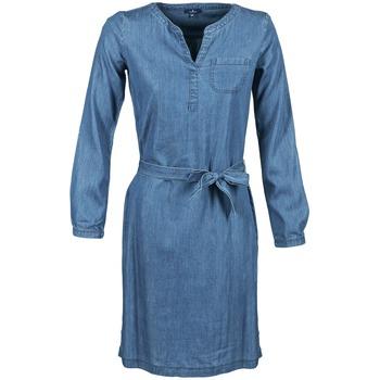 Oblečenie Ženy Krátke šaty Tom Tailor JANTRUDE Modrá / MEDIUM
