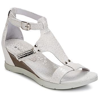 Topánky Ženy Sandále Regard RATANO Biela
