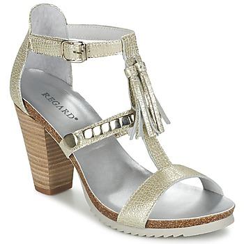 Topánky Ženy Sandále Regard ROKOLO šedá platinová