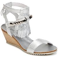 Topánky Ženy Sandále Regard RUKO Strieborná
