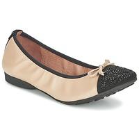 Topánky Ženy Balerínky a babies Mam'Zelle NUPO Béžová / čierna