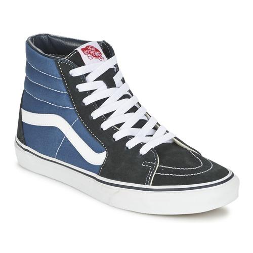 Topánky Členkové tenisky Vans SK8-HI Námornícka modrá / Čierna