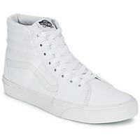 Topánky Členkové tenisky Vans SK8-HI Biela