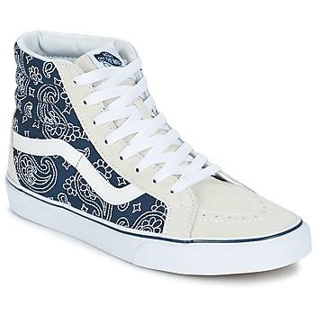 Topánky Členkové tenisky Vans SK8-HI REISSUE Bandana / Modrá / Biela