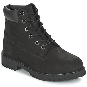Topánky Chlapci Polokozačky Timberland 6 IN PREMIUM WP BOOT čierna