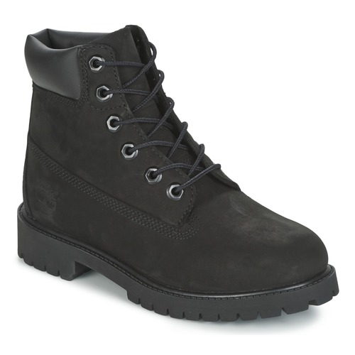 Topánky Deti Polokozačky Timberland 6 IN PREMIUM WP BOOT Čierna