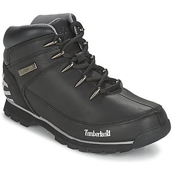 Topánky Muži Polokozačky Timberland EURO SPRINT HIKER Čierna / Reflechissant