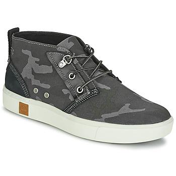 Topánky Muži Členkové tenisky Timberland AMHERST CHUKKA šedá / Camouflage / čierna