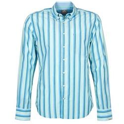 Oblečenie Muži Košele s dlhým rukávom Gaastra SUMMERJAM Modrá / Biela