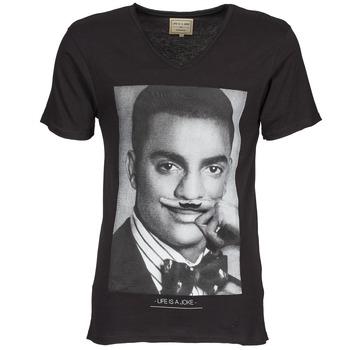 Oblečenie Muži Tričká s krátkym rukávom Eleven Paris MARLTON M Čierna