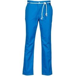 Oblečenie Muži Nohavice Chinos a Carrot Eleven Paris CHARLIE Modrá