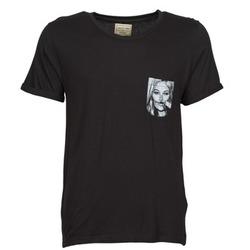 Oblečenie Muži Tričká s krátkym rukávom Eleven Paris KMPOCK Čierna