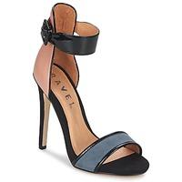 Topánky Ženy Sandále Ravel Pansy Svetlá telová / čierna