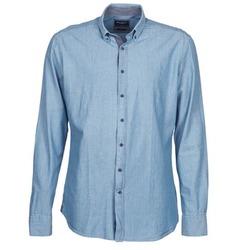 Oblečenie Muži Košele s dlhým rukávom Hackett RILEY Modrá