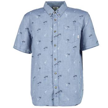 Oblečenie Muži Košele s krátkym rukávom Vans HOUSER SS Modrá
