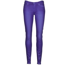 Oblečenie Ženy Džínsy Slim 7 for all Mankind THE SKINNY VINE LEAF Modrá