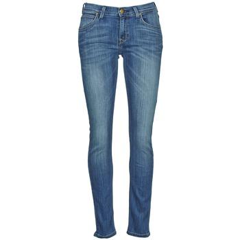 Oblečenie Ženy Džínsy Slim Lee JADE Modrá