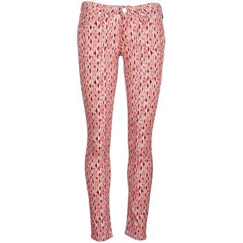 Oblečenie Ženy Džínsy Slim Lee SCARLETT Červená / Oranžová