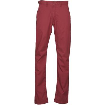 Oblečenie Muži Nohavice Chinos a Carrot Lee CHINO OXBLOOD červená