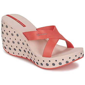 Topánky Ženy Šľapky Ipanema LIPSTICK STRAPS II Červená / Ružová