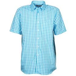 Oblečenie Muži Košele s krátkym rukávom Pierre Cardin 539236202-140 Modrá