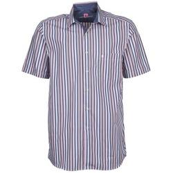 Oblečenie Muži Košele s krátkym rukávom Pierre Cardin 514636216-184 Modrá / Ružová