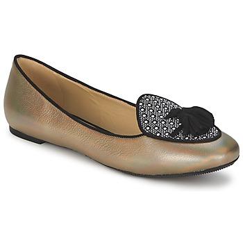Topánky Ženy Balerínky a babies Etro 3922 Zlatá
