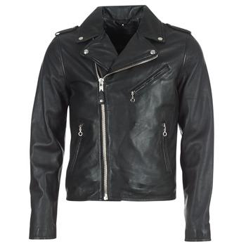Oblečenie Muži Kožené bundy a syntetické bundy Schott LEVOQ Čierna