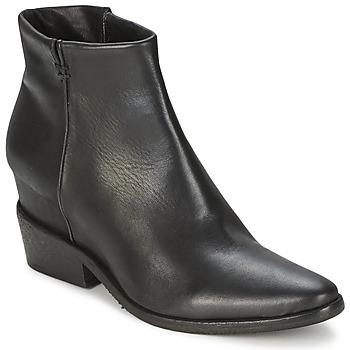 Topánky Ženy Polokozačky Strategia BLOCUSSON čierna