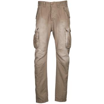 Oblečenie Muži Nohavice Cargo Freeman T.Porter PUNACHO COTTON GAB CHOCOLATE CHIP Hnedá / Béžová