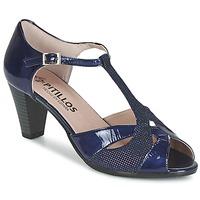 Topánky Ženy Sandále Pitillos MARILOU Námornícka modrá