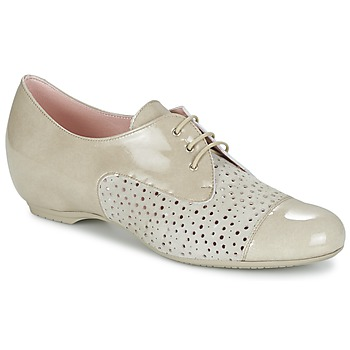 Topánky Ženy Derbie Pitillos CLETTE Krémová
