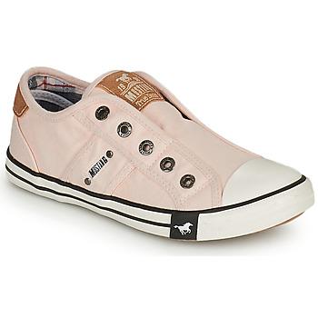 Topánky Dievčatá Nízke tenisky Mustang SHAYAN Ružová