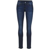 Oblečenie Ženy Džínsy Skinny G-Star Raw LYNN MID SKINNY Slander / Modrá / Superstretch / Medium / Aged