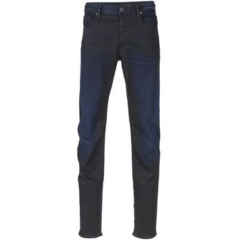 Oblečenie Muži Džínsy Slim G-Star Raw 3301 SLIM Dark / Aged / Slander / Super / Stretch / Denim