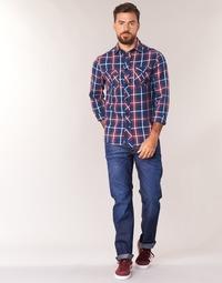 Oblečenie Muži Rovné džínsy G-Star Raw 3301 STRAIGHT Hydrite / Denim / Dk / Aged