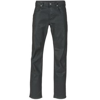 Oblečenie Muži Rovné džínsy G-Star Raw 3301 STRAIGHT Čierna