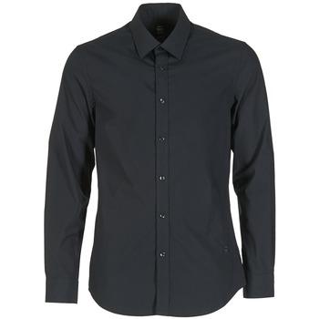 Oblečenie Muži Košele s dlhým rukávom G-Star Raw CORE Čierna