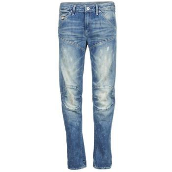 Oblečenie Ženy Rovné džínsy G-Star Raw 5620 3D LOW BOYFRIEND WMN MEDIUM / Aged / Painted / Scatter / Denim