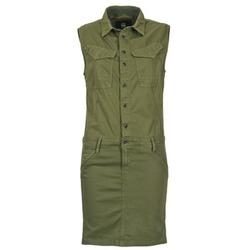 Oblečenie Ženy Krátke šaty G-Star Raw ROVIC SLIM DRESS WMN S/LESS Kaki