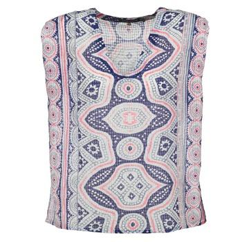 Oblečenie Ženy Blúzky Antik Batik JAGGA Modrá / Viacfarebná