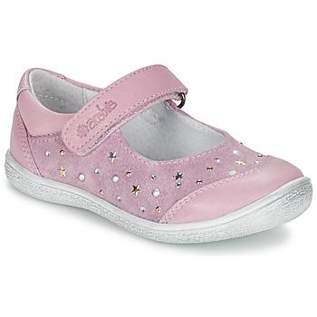 Topánky Dievčatá Balerínky a babies Acebo's DARKA Ružová