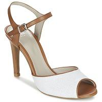 Topánky Ženy Sandále Perlato PINEDA Biela