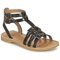 Topánky Dievčatá Sandále Shwik LAZAR BUCKLE čierna