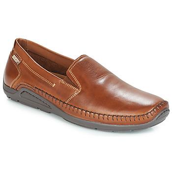 Topánky Muži Mokasíny Pikolinos AZORES Hnedá