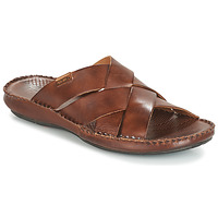 Topánky Muži Šľapky Pikolinos TARIFA Hnedá